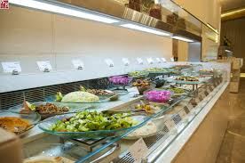 round table salad bar artistic decor also modern cool featured buffet rosewater style grand spread outstanding