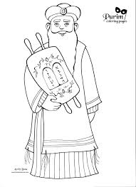 Small Picture Purim Coloring Pages For Preschool Purim Holiday Coloring Page