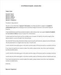 Letter Of Affidavit Template Sarahepps Com