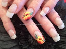 nail+art+gallery | one stroke freehand nail art nail technician ...