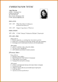 How To Make Cv For Teaching Job Lease Template Resumes Restaurant
