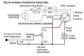 4 pin mini xlr wiring diagram with wiring diagram Shure Microphone Wiring Diagram 4 pin mini xlr wiring diagram ta4f mini xlr to 3 5mm adapter shure microphone wiring diagrams dia