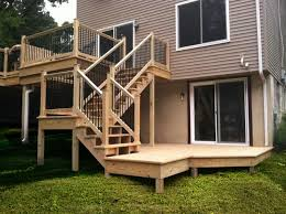 wood deck cost. Lykens Valley Contractors Millersburg Pa How Much Does A Deck Cost Wood