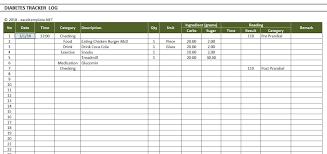 Excel Blood Sugar Log Diabetes Blood Sugar Level Tracker Excel Templates With Diabetes