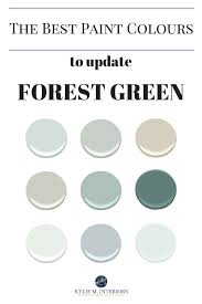 the best paint colours and ideas to update forest green countertops tile carpet