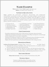 Training Resume Objective Examples Free Download