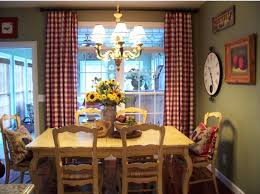 french country kitchen curtains ideas dining the check and rooster needlepoint pillows best room images on