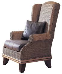 padma s plantation bali wing chair