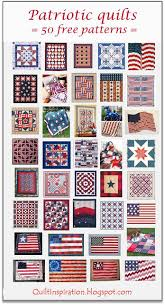 Patriotic Quilt Patterns Delectable Quilt Inspiration Free Pattern Day Patriotic And Flag Quilts
