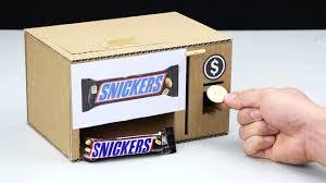 how to make chocolate vending machine mini gear