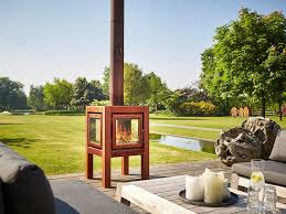 rb73 quaruba l wood burning outdoor freestanding corten fireplace