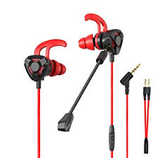 CLAW G9 Gaming <b>Earphones</b> with Dual Microphones, <b>3D</b> Stereo ...