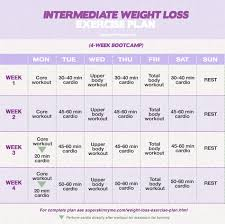 beginner weight loss exercise plan interate weight loss exercise plan