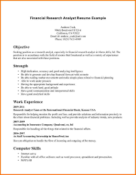 credit rating analyst resume pricing analyst resume example