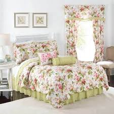 Waverly Emmas Garden Bed In A Bag Sets Country Bedroom Quilts And Curtains  Bedroom Bed Sets