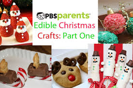 Edible Christmas Crafts Part 1 | Crafts For Kids | PBS Parents