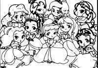 Baby Disney Princess Coloring Pages Printable Coloring Page For Kids