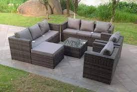 rattan garden furniture outdoor