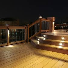 diy outdoor led deck lighting this outdoor led recessed stair light kit allows exterior steps and stairs to be illuminated for both safety and am