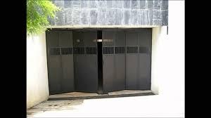 folding garage doors. Unique Folding Photo 8 Of 9 Quality Automations  Folding Garage Door YouTube   Concertina Doors 8 Inside E