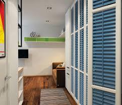 Cool Blue Closet