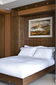 P   Walnut Murphy Bed - Patricia Gray   Interior Design