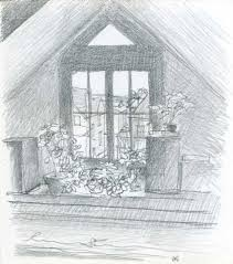 window pencil drawing. lovejoy window pencil drawing d