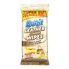 images duzzit leather cleaning wipes 50pk
