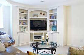 Living Room Tv Unit Furniture When And How To Place Your Tv In The Corner Of A Room