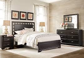black queen bedroom sets. Belcourt Black 5 Pc Queen Lattice Bedroom Sets E