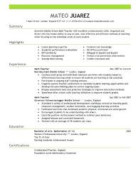 Preschool Teacher Resume Objective Examples Resume Preschool Teacher Resume Objective 16