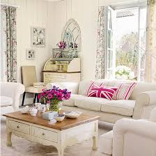 white sitting room furniture. White Living Room With Pink Accents | Living Ideas  PHOTO GALLERY White Sitting Furniture