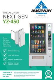 Vending Machine Brochure Amazing New Vending Machines Austway Vending Machines Perth