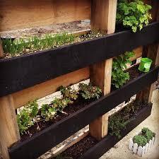 diy pallet vertical herb garden hanging planter 99 pallets pallet regarding hanging pallet herb garden