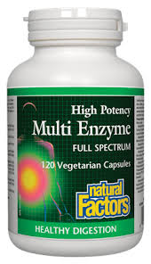 <b>Multi Enzyme</b>   Natural Factors Canada