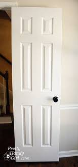 excellent ideas painting wood doors white how to paint doors the professional way pretty handy