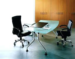 desk in office. Glass Office Desks Desk Top I L Shaped . Enjoyable Contemporary In