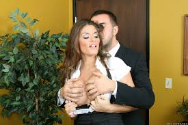 Hot secretary Madelyn Marie gets fucked pretty hard by her boss.