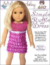 American Girl Doll Clothes Patterns Free