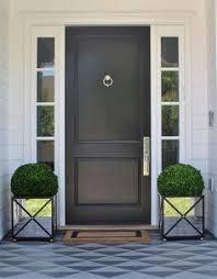 black front doors. Beautiful Front Mirroredfrontdoorplanters For Black Front Doors