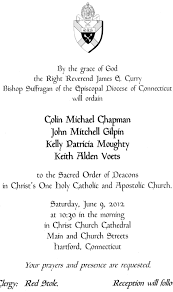 Ordination Invitation Template Catholic Ordination Invitations