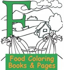 Small Picture Favorite Foods Coloring Pages HubPages
