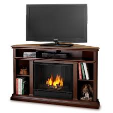 real flame churchill 51 ventless tv stand with gel fuel fireplace lovely triangular tv stand