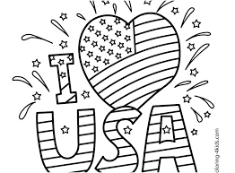 Coloring Pages 4th Of July Printable Ccdckyorg