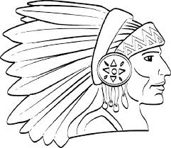 Native American Coloring Pages Printable Mtkguideme