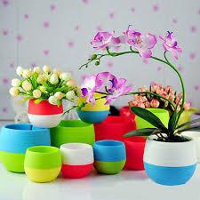 garden pots cheap. Click To Buy \u003c\u003c Colourful Mini Round Plastic Plant Flower Pot Garden Home Pots Cheap