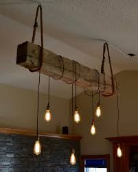 industrial style chandelier inspirational farmhouse style light fixture wrapped wood beam antique decor