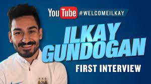 gundogan signs first interview as a manchester city player first interview as a manchester city player