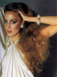 these images of jerry hall in all her 70 s and early 80 s glory have been inspiring me lately to step up my hair and makeup game