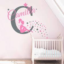 <b>Personalised</b> Girl Room Baby Room Decal <b>Custom Name</b> Magical ...
